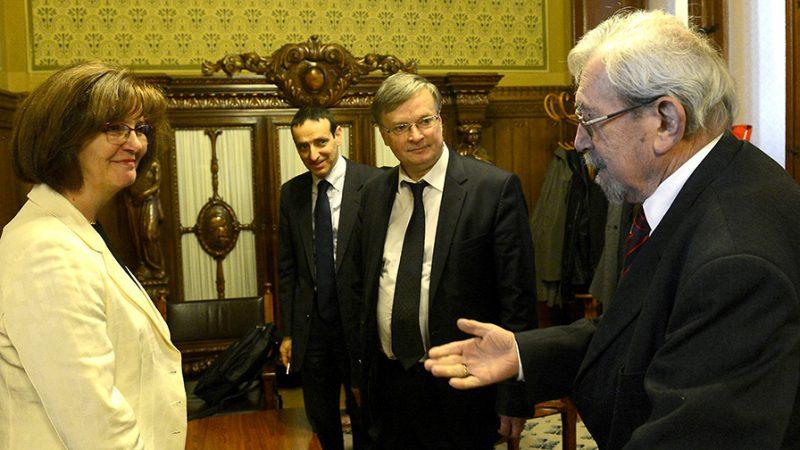 Rubovszky György üdvözli az Alkotmánybíróság három új tagját