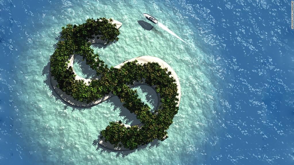 """Az offshore cég """"adóparadicsoma""""."""