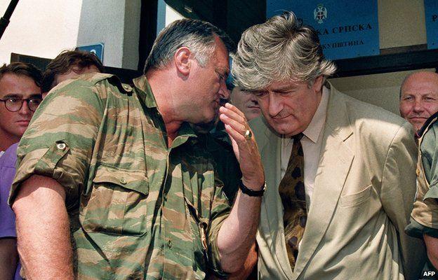 Mladić és Karadžić